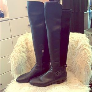 Tory Burch over the knee Ladies boots